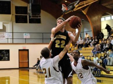 Men's Basketball Outlasts Millsaps on the Road
