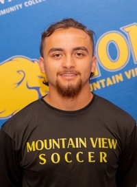 Headshot of Men's Soccer player #1 Bernardo Vielma