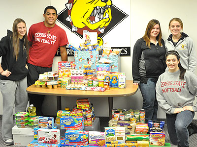 1,300 Items Collected In FSU Food Fight