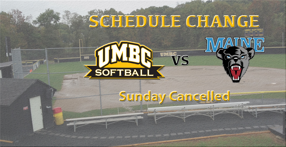 Field Conditions Force Sunday Cancellations for UMBC Softball