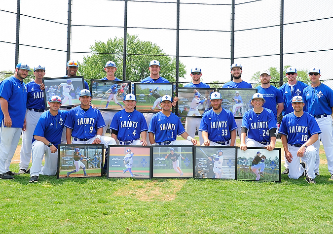 Baseball splits with Bridgewater on Senior Day
