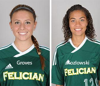 Felician Nabs Two CACC Weekly Women's Soccer Awards