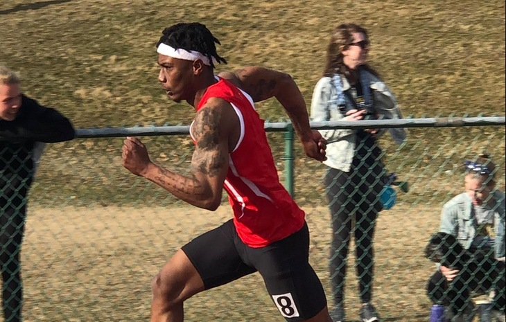Travelis Mosley Tabbed NECC Men's Track Rookie of the Week