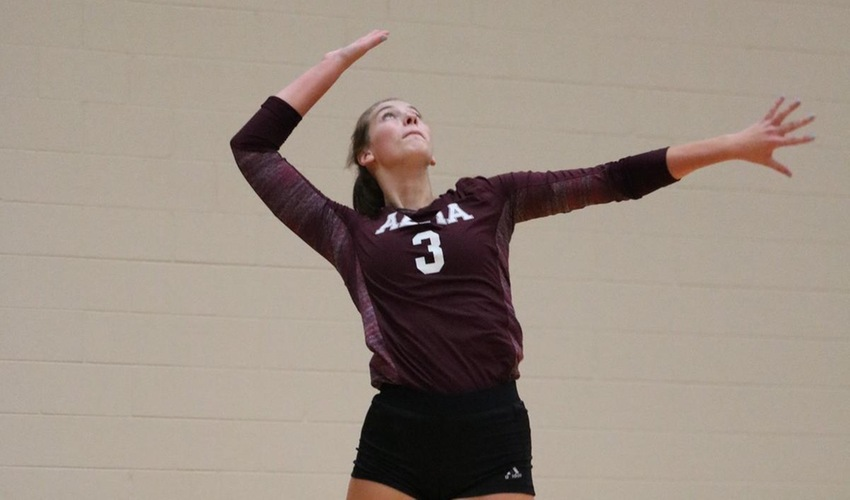 Volleyball Falls In Thrilling Contest