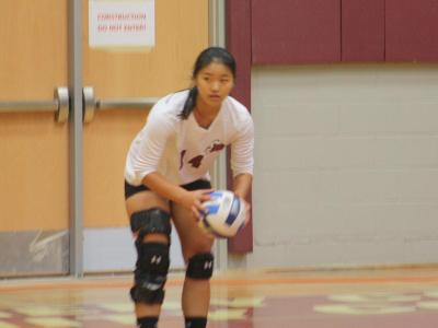 Women's Volleyball: Win in three
