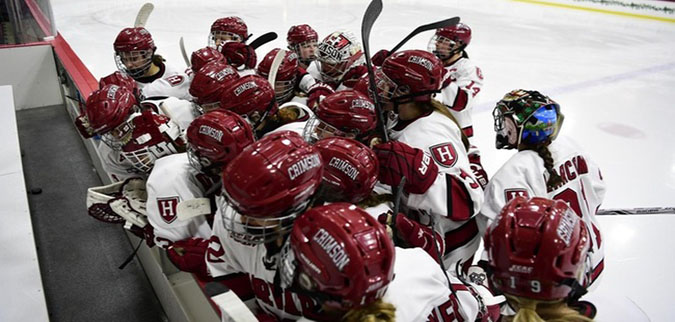 Harvard falls to No. 9 Colgate in game three of ECAC Hockey quarterfinals
