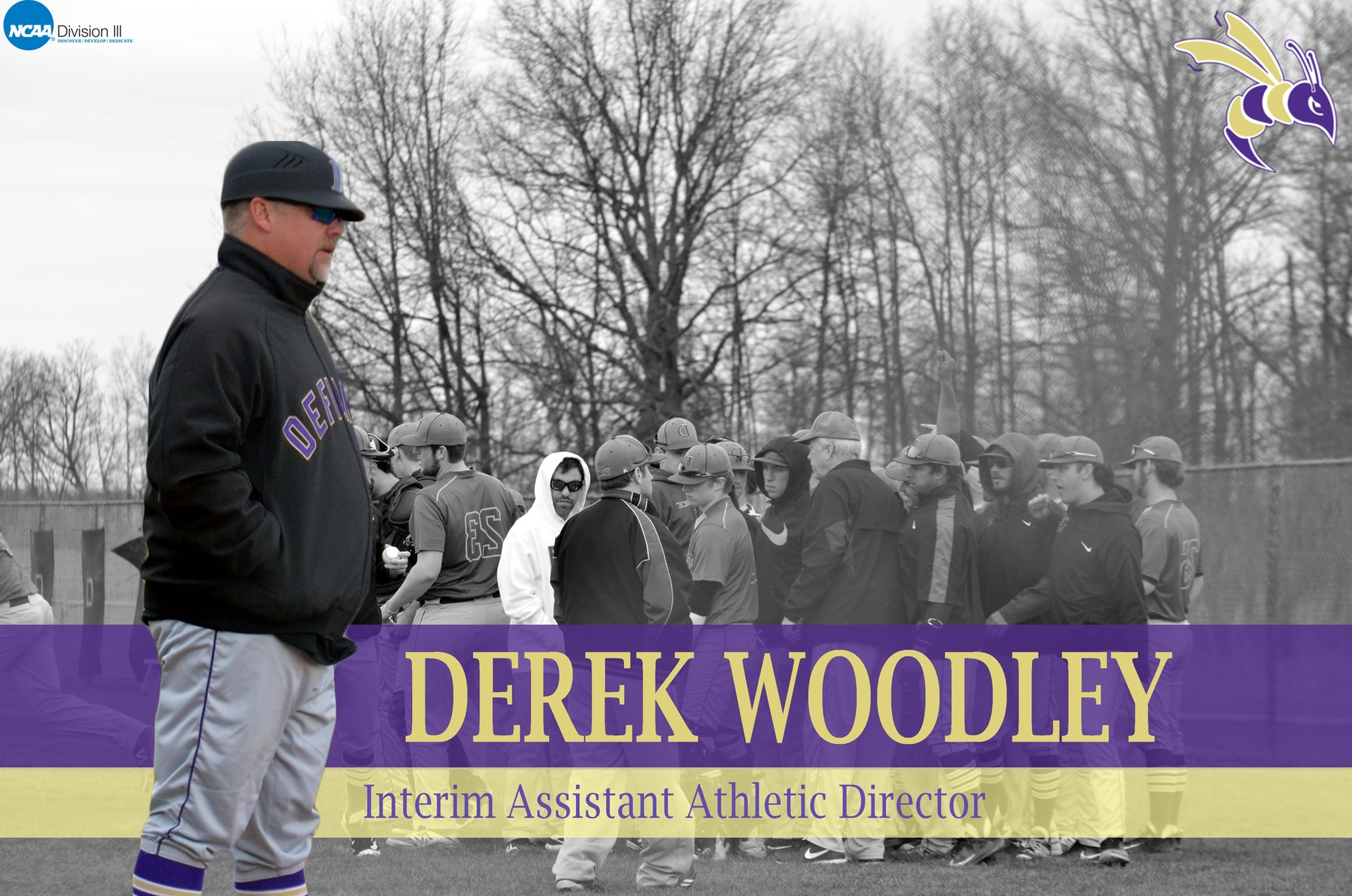 Woodley Named Interim Assistant Athletic Director