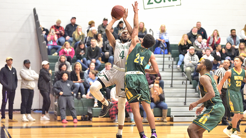 Statesmen Downed By Allegany, 95-91