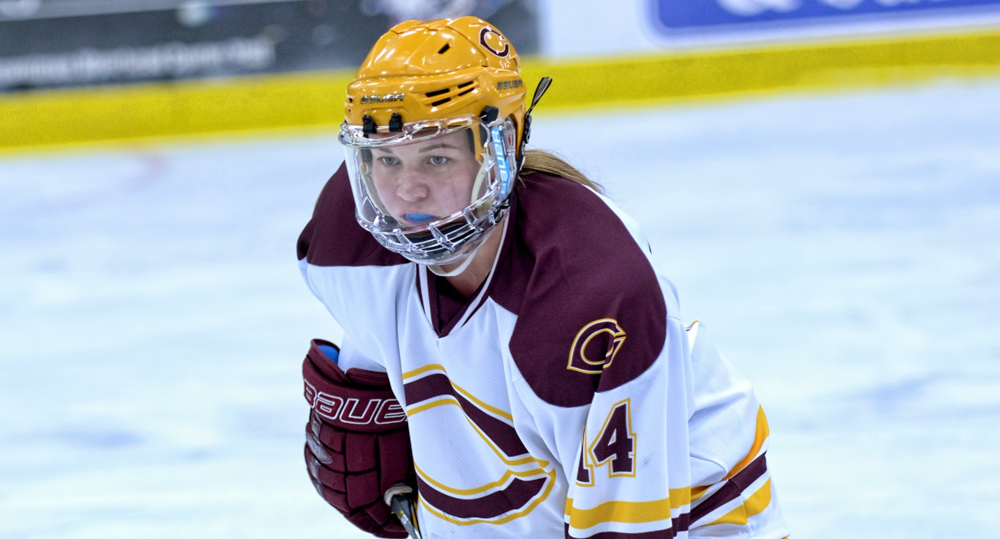 Freshman Callie Fagerstrom scored the game-winning goal in the Cobbers' 3-1 win over St. Catherine.