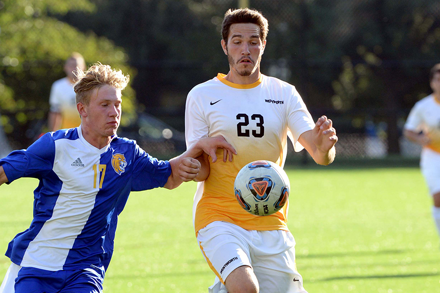 'Ship Bound:  Men's Soccer Works Overtime to Advance to CCC Finals