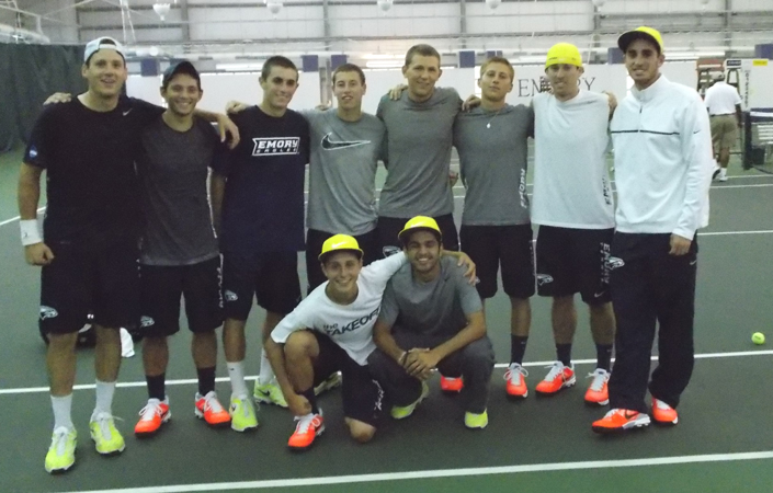 Emory Men's Tennis Defeats UT-Tyler In NCAA Third-Round Action -- Advances To Quarterfinals Of National Championships
