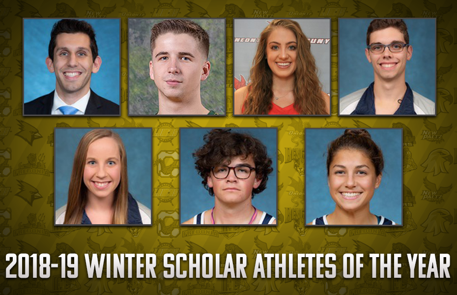 SUNYAC announces 2018-19 Winter Scholar Athletes of the Year