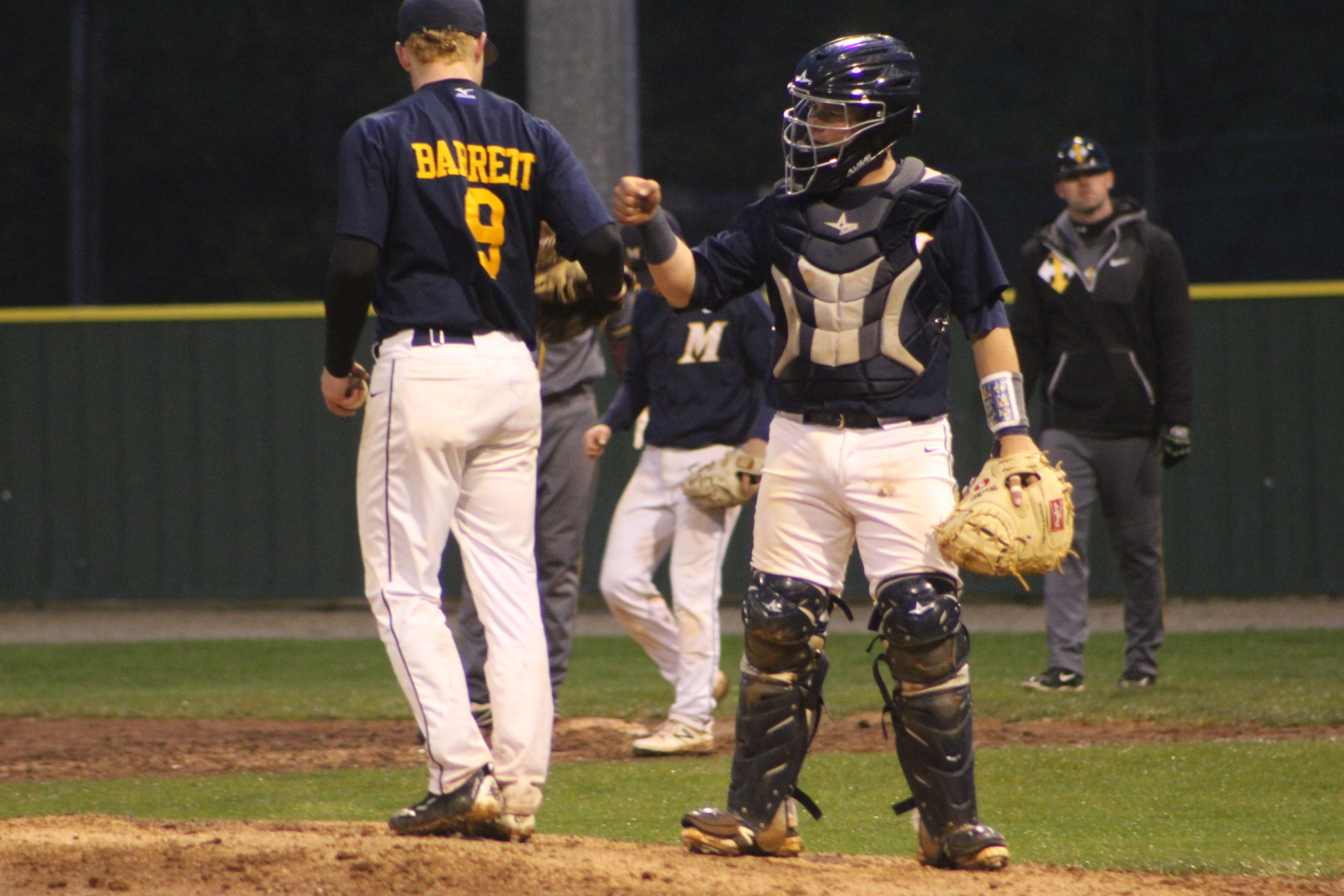 MCC baseball swept Indian Hills CC in Centerville on Friday night