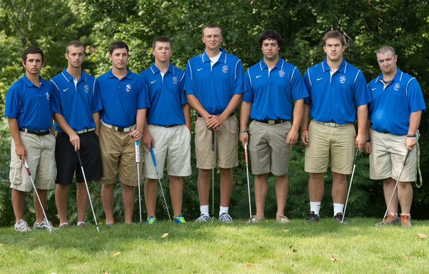 Monks Fall Short, Caron Claims Medalist Honors