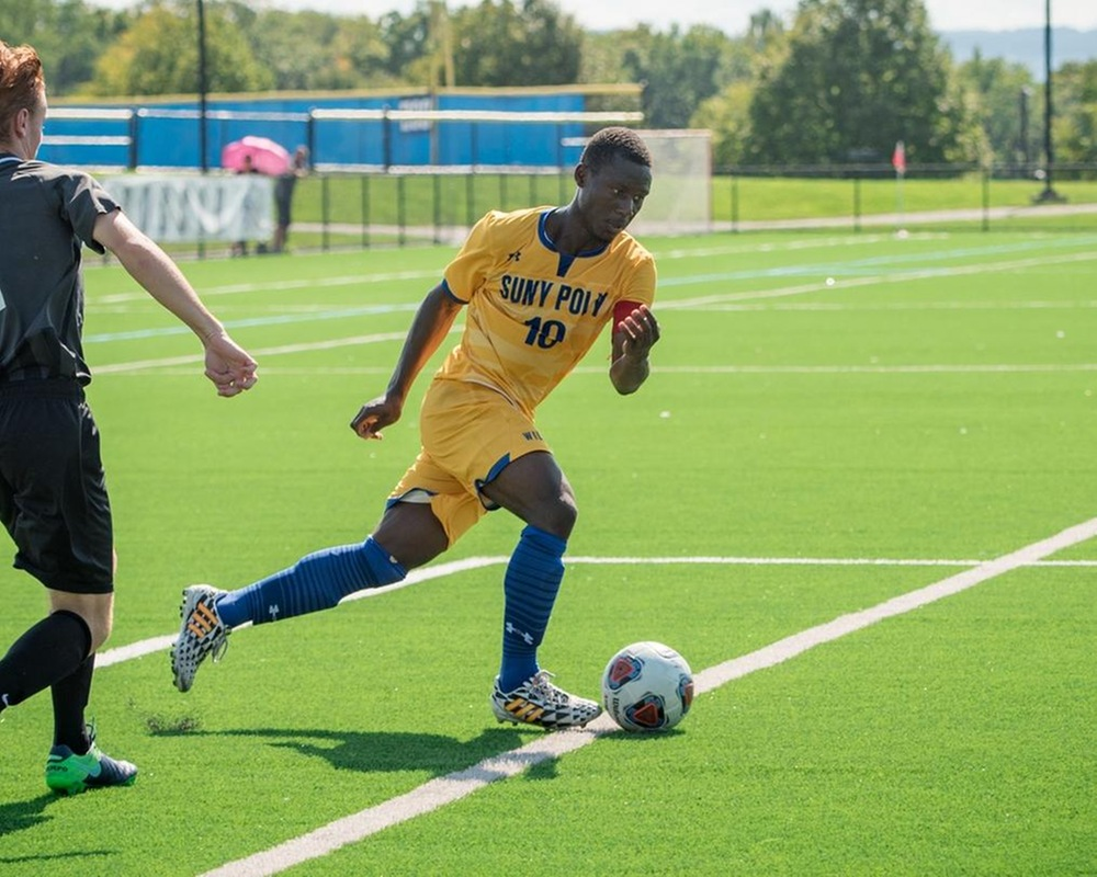 MSOC: Overtime Heroics Give Wildcats Their First NEAC Win of the Season.