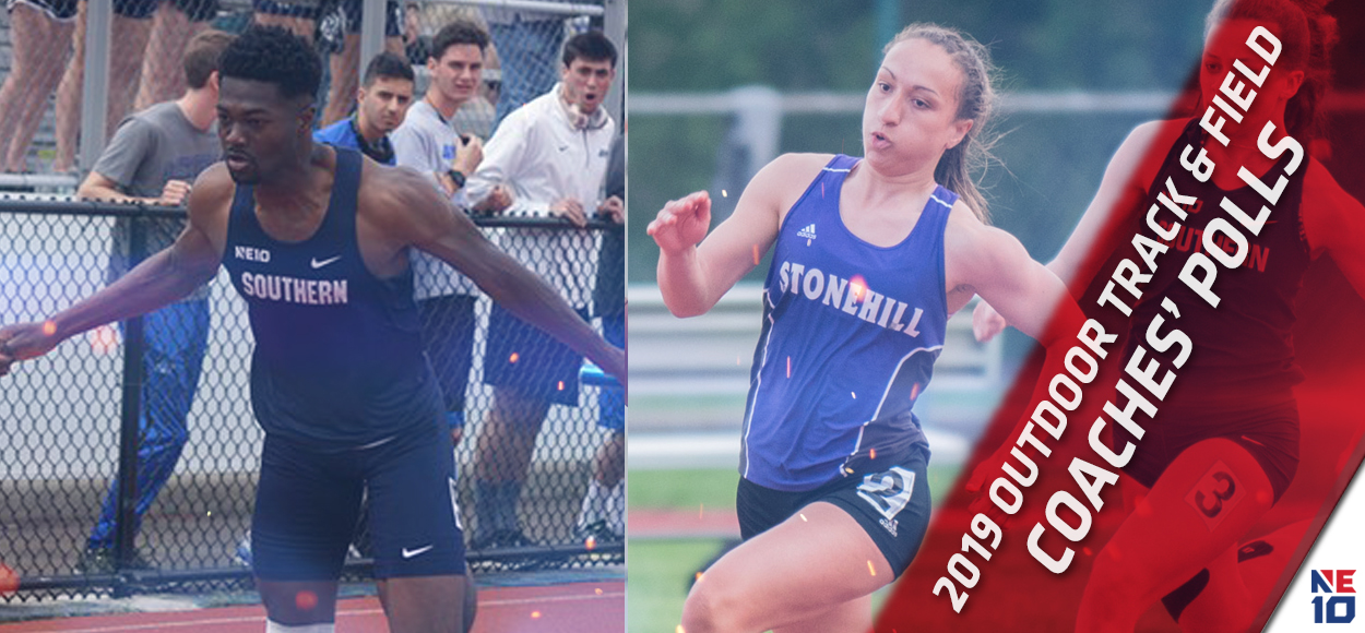 Embrace the Championship: SCSU Men, Stonehill Women Voted to Win NE10 Outdoor Track & Field Championships