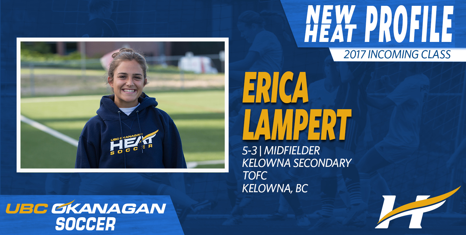 Heat Women's soccer recruiting class grows stronger with the addition of TOFC's Erica Lampert