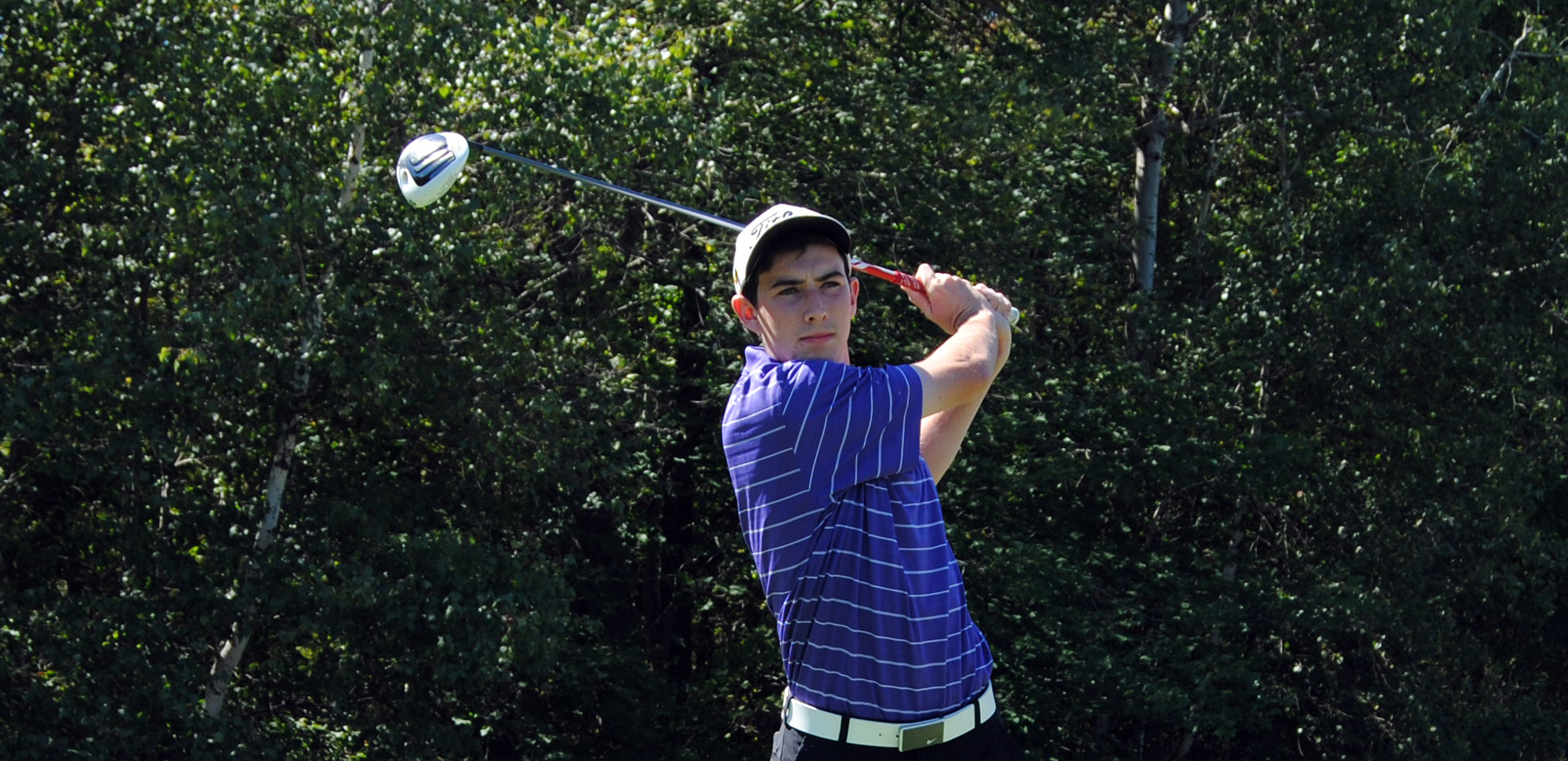 Sophomore Kyle Hayes finished tied for 10th at the AGA Collegiate Championships.
