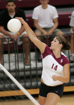 Volleyball Bests Appalachian State
