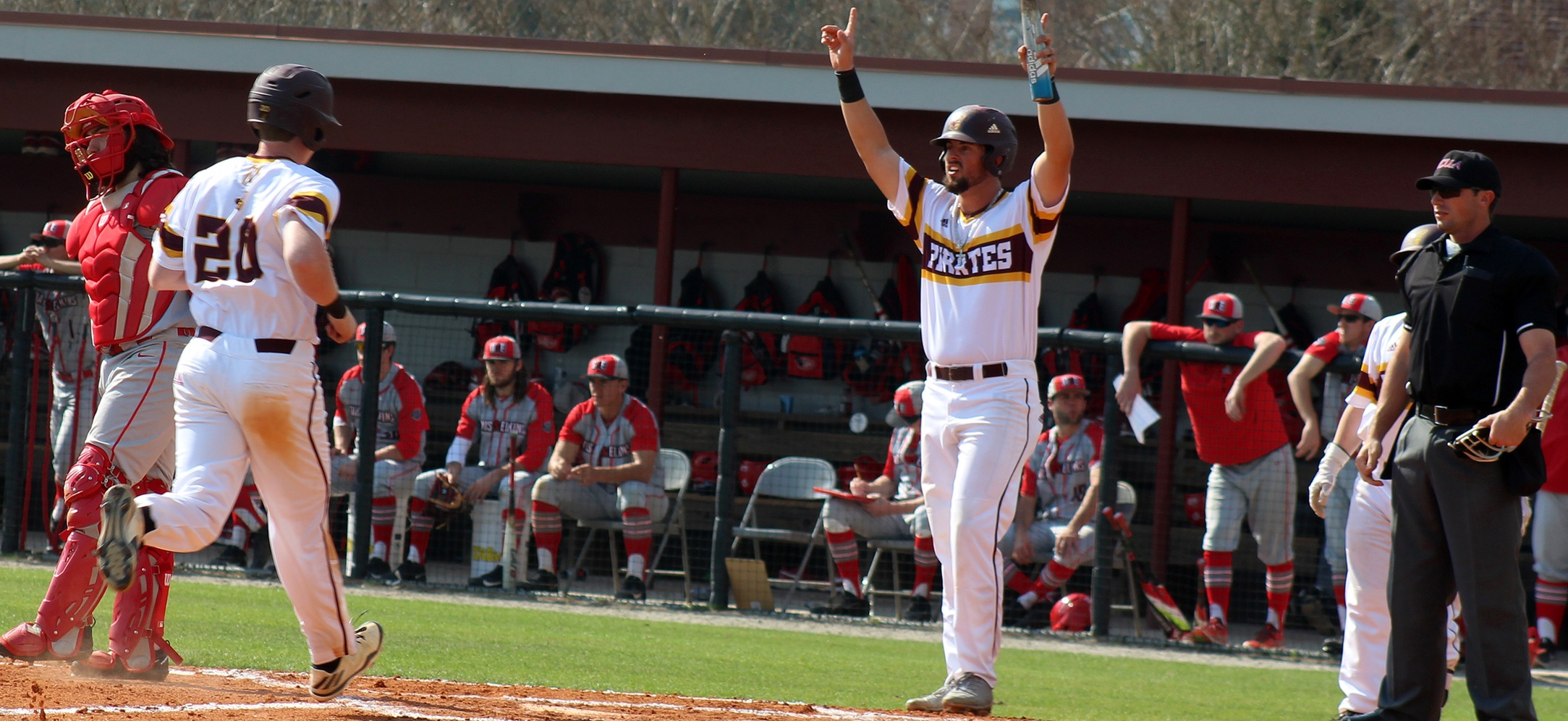 Armstrong State Baseball Outslugs Albany State, 10-8, On Tuesday