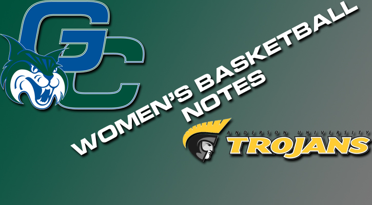 Women's Basketball Notes vs. Anderson University
