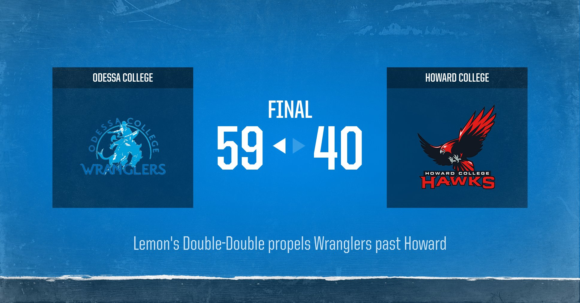 Wrangler Women win on the Road at Howard College