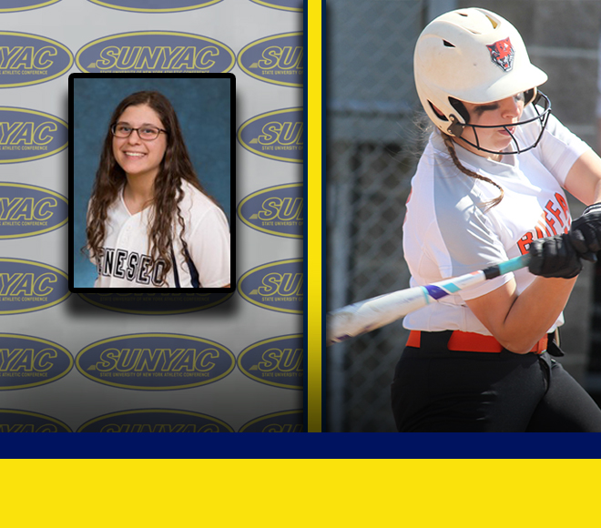 SUNYAC announces Softball Athletes of the Week