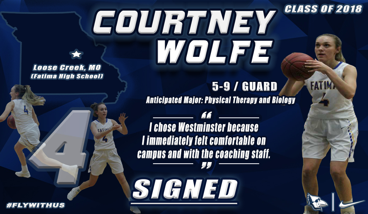 Wolfe Signs With Westminster Women's Basketball