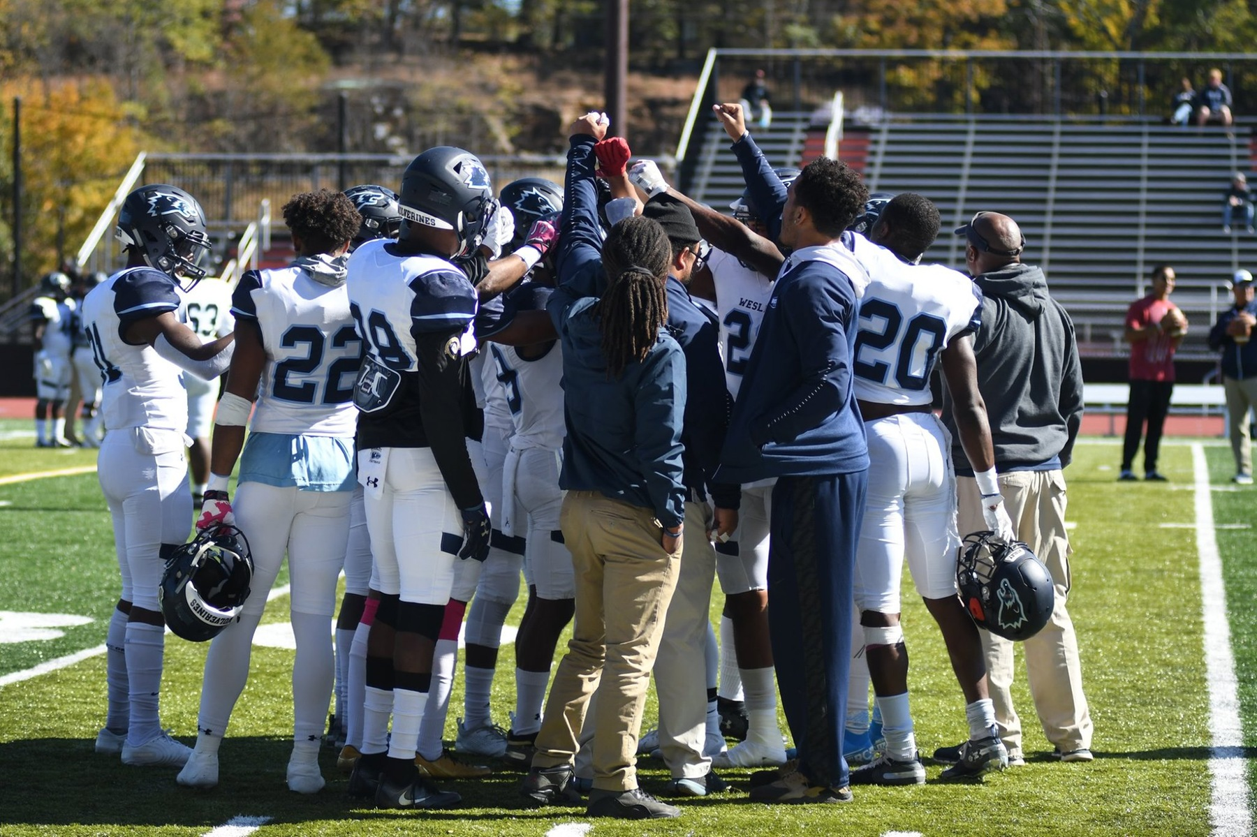 No. 15 Wesley Clinches Nail Biting Overtime Victory against Montclair on Homecoming Weekend