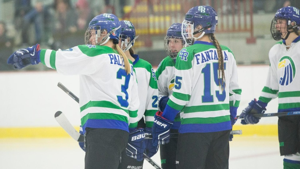 Nichols College topped Salve Regina 3-1 on Saturday in Colonial Hockey Conference (CHC) action (Photo by Rob McGuinness).