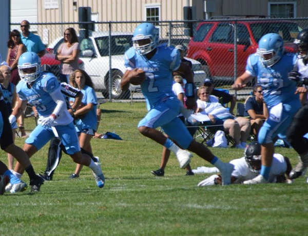 Explosive Westminster Football Offense Launches Blue Jays Over Martin Luther