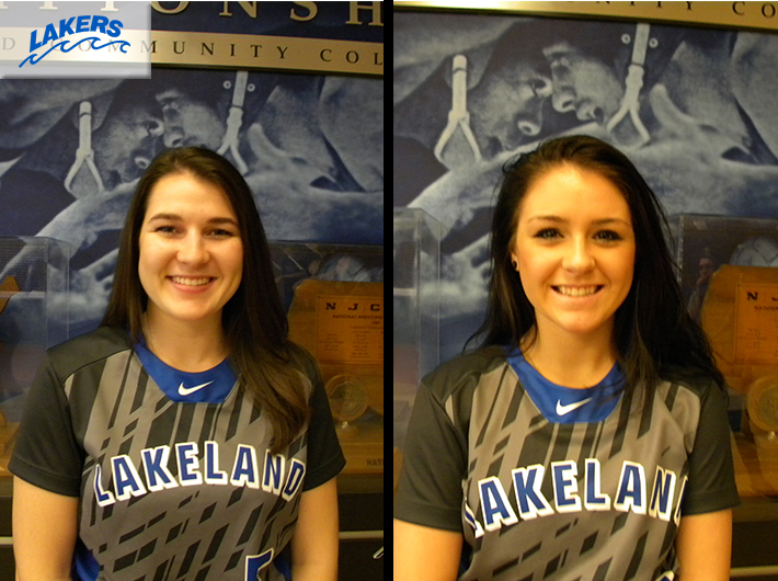 Lakers softball sweeps NCCC