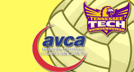 Golden Eagle Volleyball wins AVCA Team Academic Award