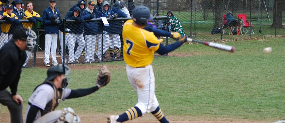 Game Two Offensive Outburst Leads Baseball to Series Win at Transylvania