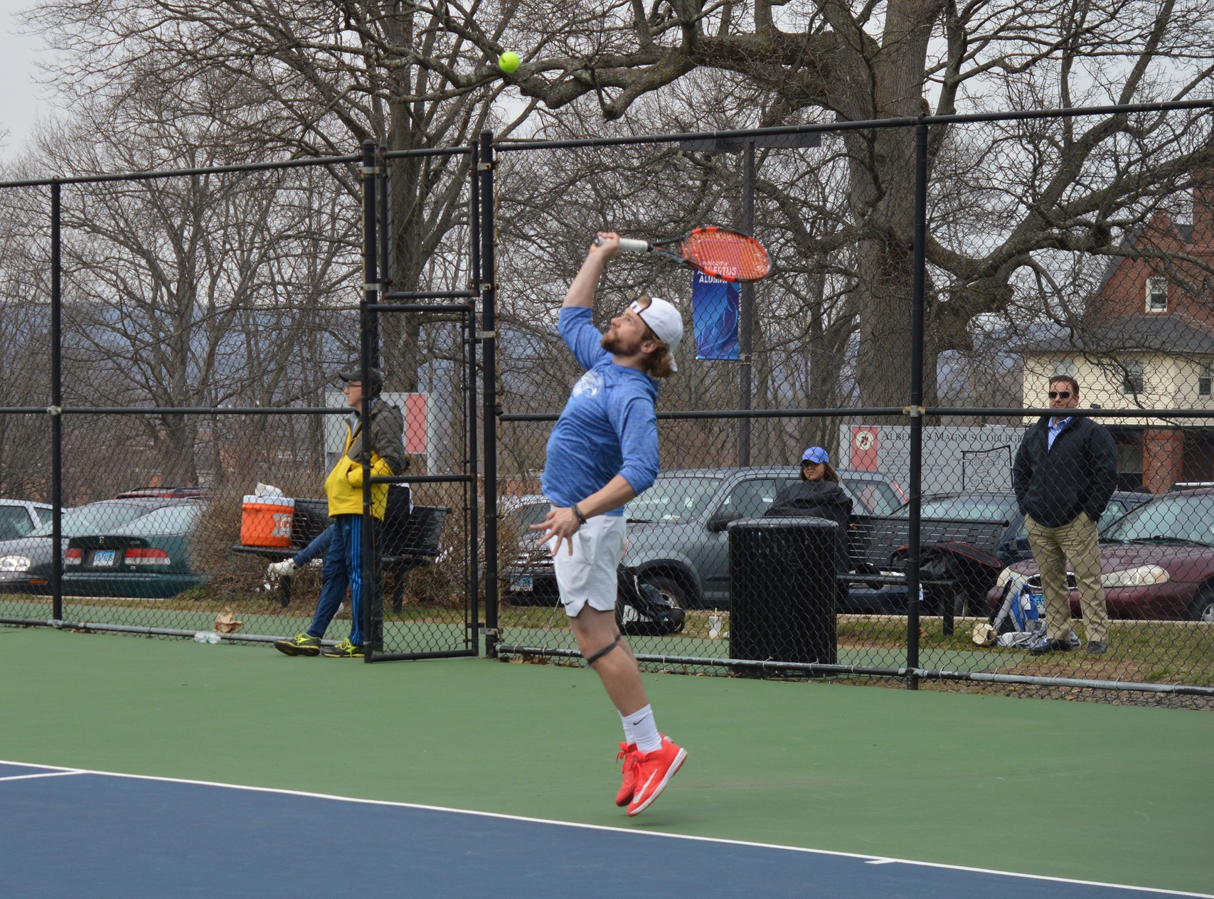 Men's Tennis Blanked by Ramapo