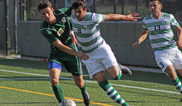 Montini's Corner Gives Wilmington Men's Soccer, 3-2, Come From Behind Victory at Goldey-Beacom