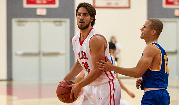 Lamar Berk led the Cougars with career-highs of 19 points and 15 rebounds in the 82-64 win over Coast Guard.