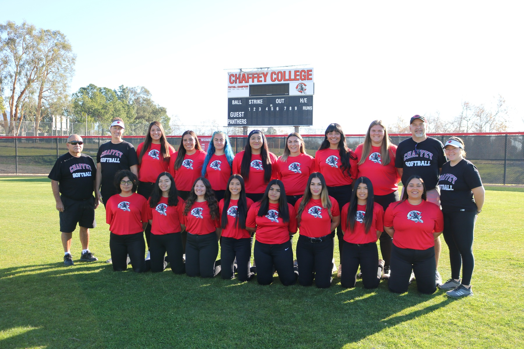 2020 SOFTBALL TEAM