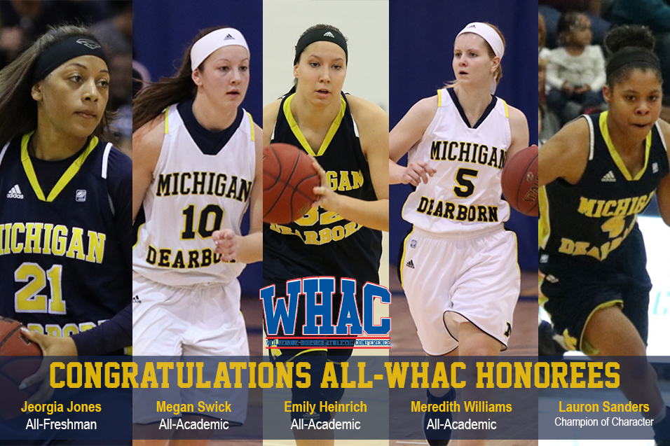 Photo for Jones named to WHAC All-Freshman Team
