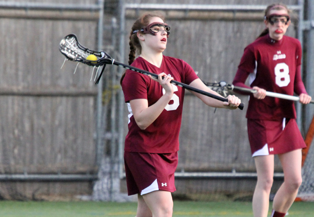 Women's Lacrosse: Cadets Swim Past Sharks, 12-3, for Second Straight Win