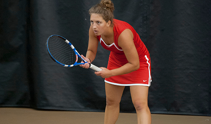 Women's Tennis Drops Spring Opener At The Racquet & Fitness Center