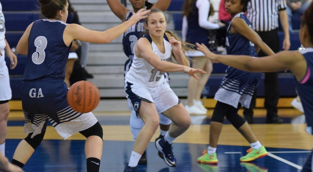 Lady Lions run past PSU Greater Allegheny.