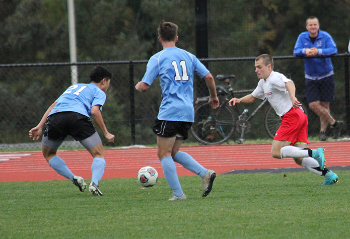 No. 12 Men's Soccer Advances to Centennial Conference Championship Game
