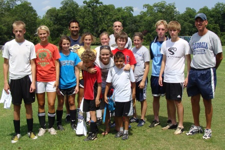 Inaugural GSW youth soccer camp comes to a close