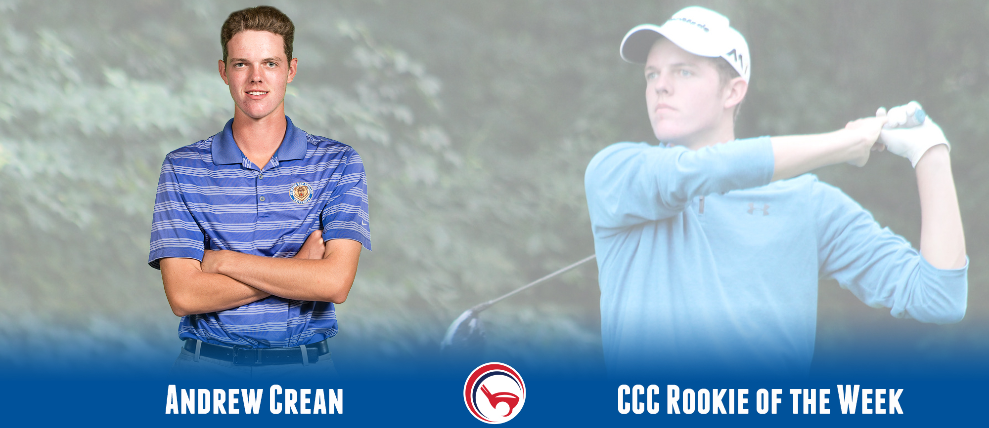 Andrew Crean Earns Second CCC Rookie of the Week Award