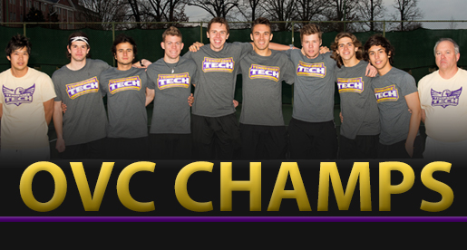 OVC CHAMPS: Tech tennis team claims league title outright with win Sunday