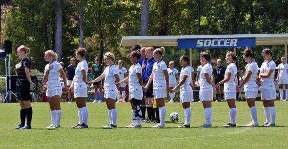 GC Soccer Falls by 1-0 Tally at Clayton State