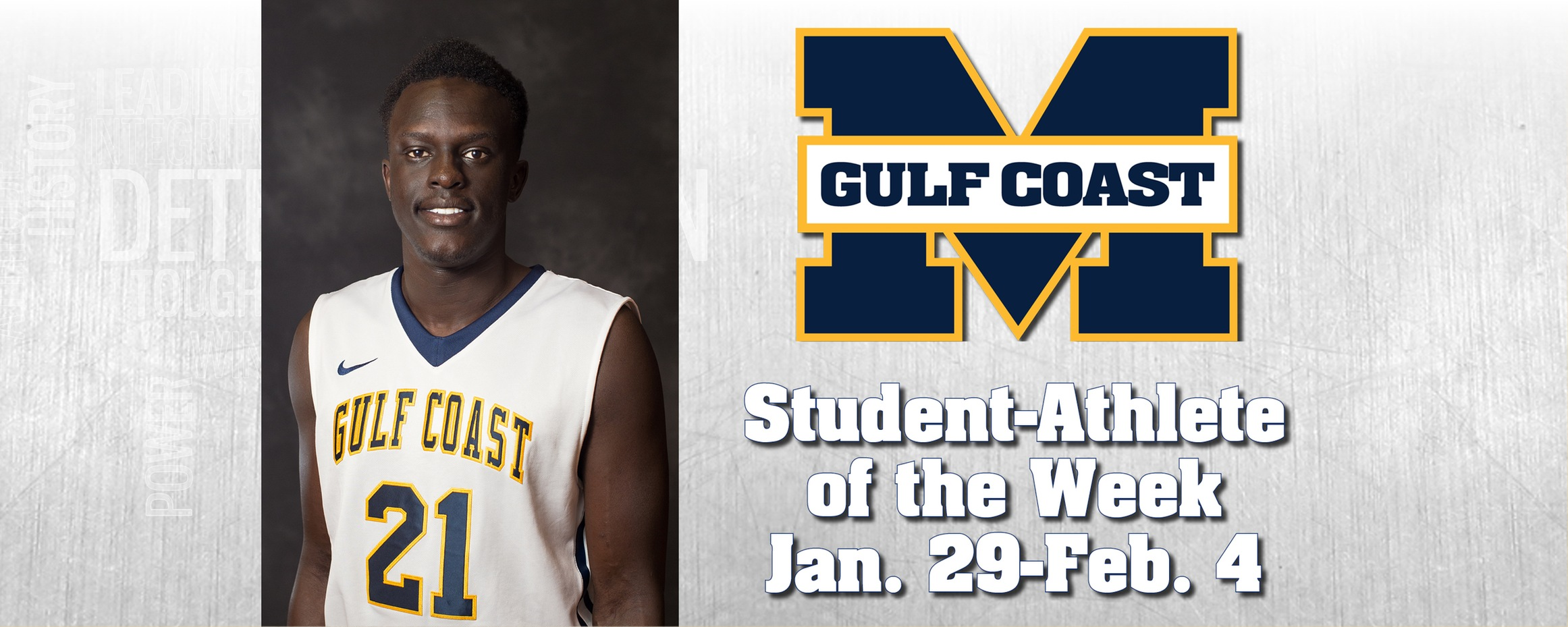 Chan named MGCCC Student-Athlete of the Week
