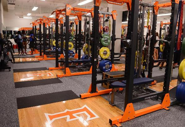 Fullerton Unveils Strength and Conditioning Facility