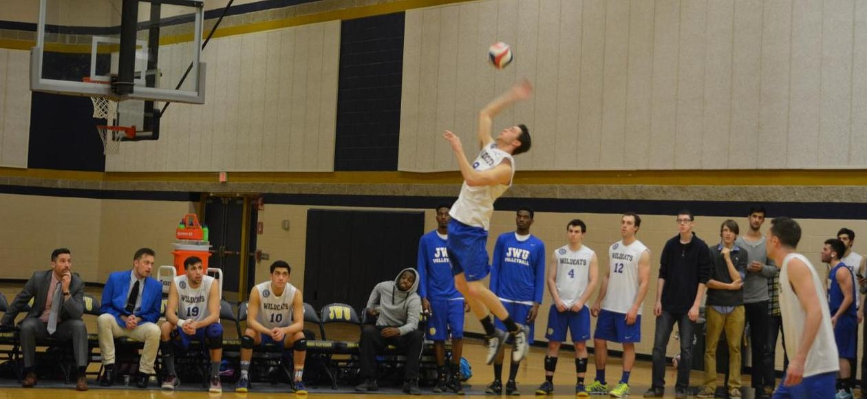Men's Volleyball Fall 3-0 to North Central in Season Opener